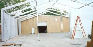 Construction of Extension in Houston, TX | Temporary Warehouse Structures