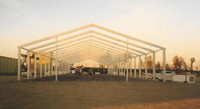 Frame Structure in Mt. Gilead, NC | Temporary Warehouse Structures
