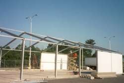Wall Panel Installation Jacksonville, FL | Temporary Warehouse Structures