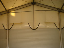 Thermo Roof Air System | Temporary Warehouse | Houston Texas