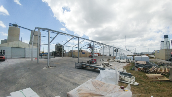 Takedown | Temporary Warehouse Structures