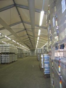 HVAC duct work | Temporary Warehouse Structures