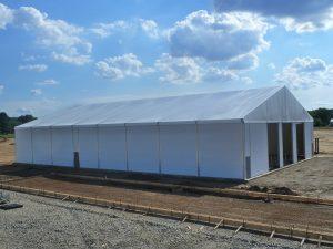 Oil field construction tent | TWS | Houston Tx