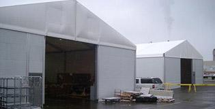 Steel & Aluminum Storage in Detroit, MI | Temporary Warehouse Structures